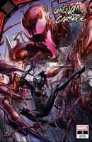 GWENOM VS CARNAGE #2 CRAIN TRADE DRESS AND VIRGIN COVER SET